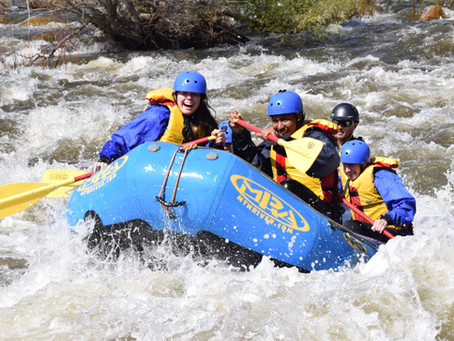 How to stay warm on Spring Rafting tours!