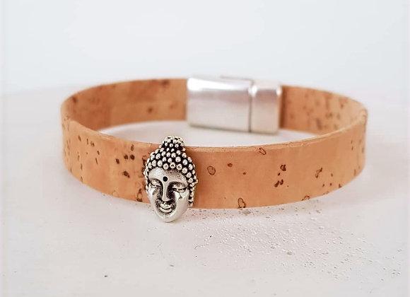 Korkarmband *Buddha*
