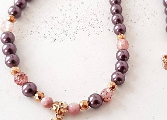 Halskette *Lotus* Roségold