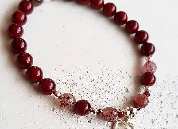 Armband *Red beauty*