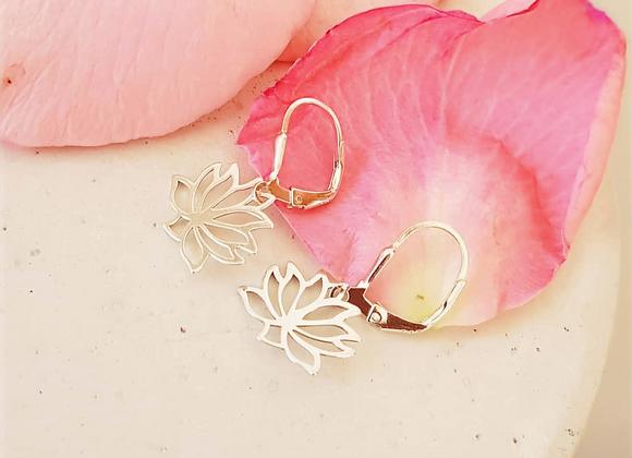 Ohrringe Silber *Lotus*
