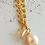Thumbnail: Halskette *Palmen & Perlen* Gold