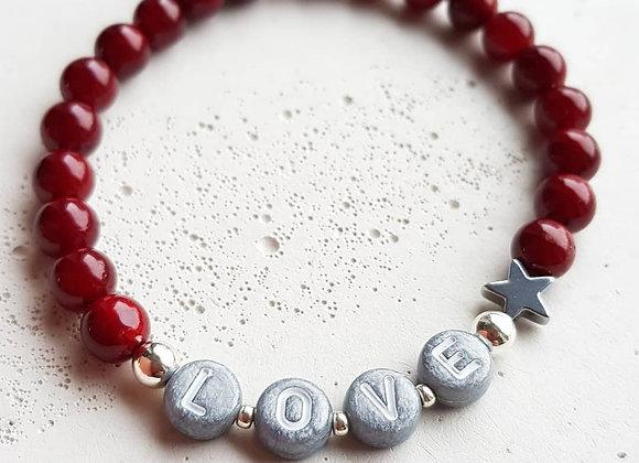 Armband Muschelkern *Love*