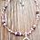 Thumbnail: Halskette Glasperlen & Herzanhänger