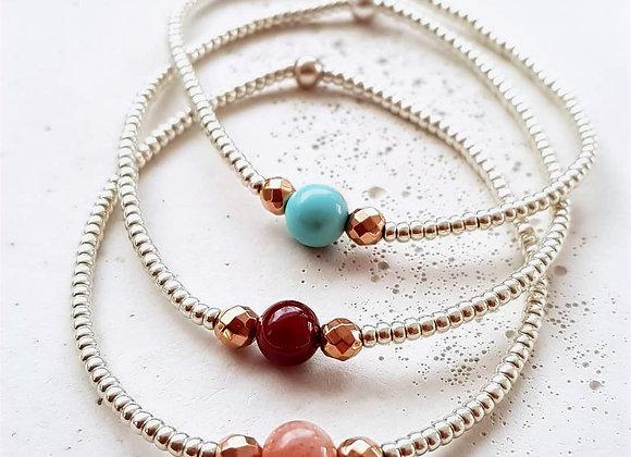 Armband Silber *Perlenliebe*