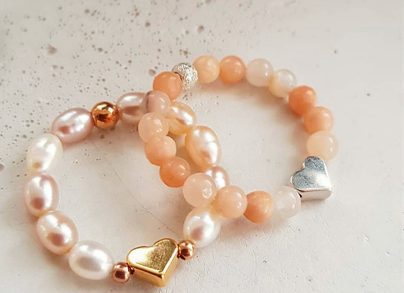 Ring *Pearl & Heart*