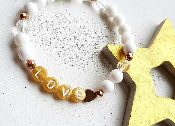 Armband Perlmutt *Love*