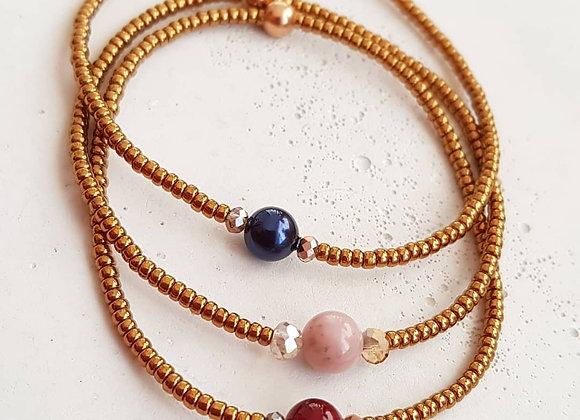 Armband Bronze *Perlenliebe*