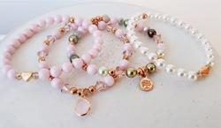 Swarovski Crystal Pearl Armbänder