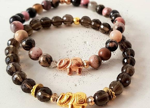 Armband *Glückselefant im Herbst*