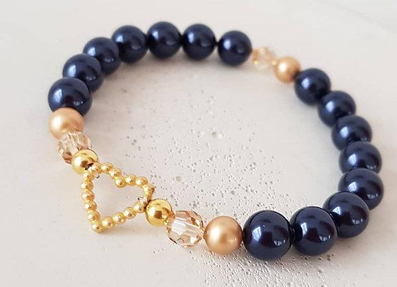 Armband *Golden Heart*