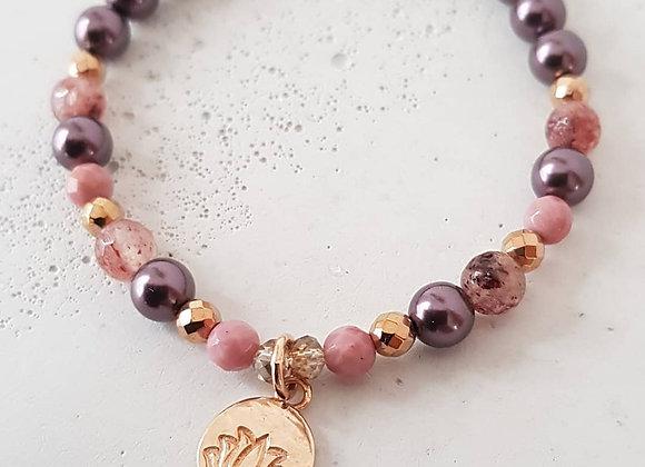 Armband *Lotus* Roségold
