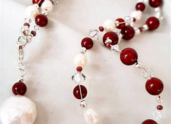 Halskette *Muscheln und Perlen*