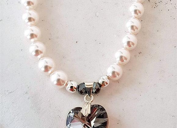 Halskette *Crystal Heart*