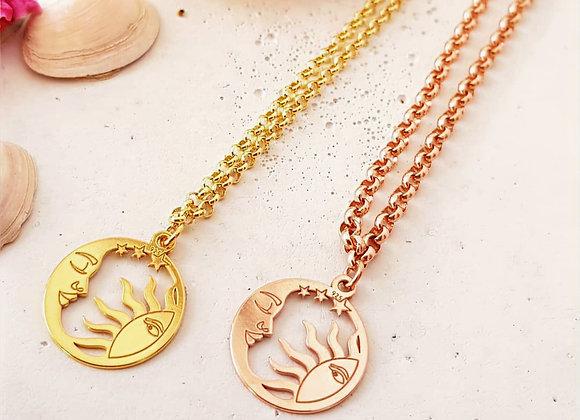 Halskette *Sonne und Mond*