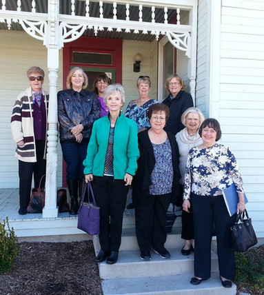 Crozier Sickles house, past committee members