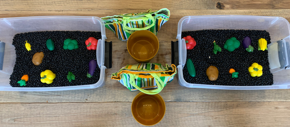 Sensory Bucket and Activity For Toddlers