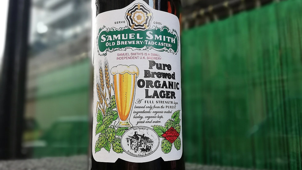 Samuel Smith Pure Brewed Organic Lager 55cl