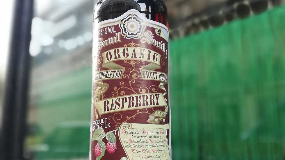 Samuel Smith Organic Raspberry Fruit Beer 33cl
