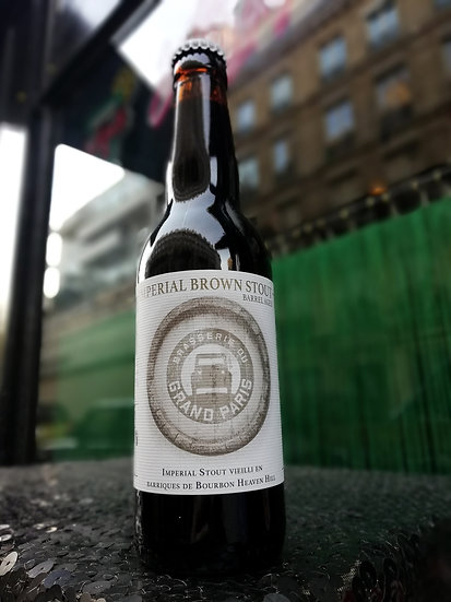 Imperial Brown Stout Barrel Aged Heaven Hill 33cl