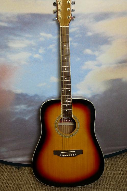 Solo classic guitar 30c5sb still string