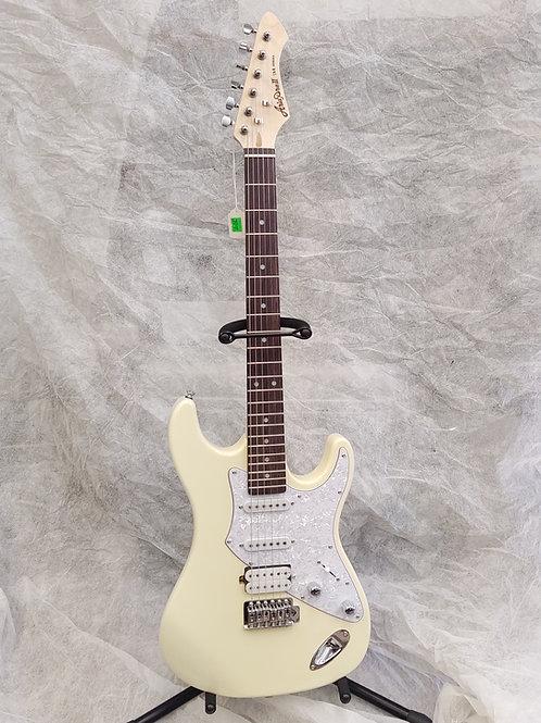 New Aria pro 2 714 white electric Guitar