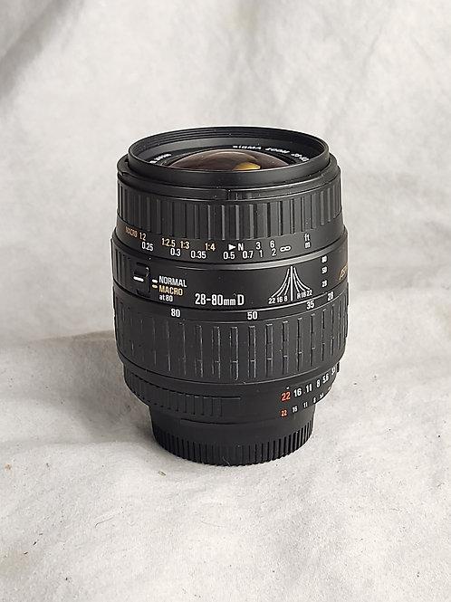 Sigma 28-80mm f3.5 Nikon mount AF