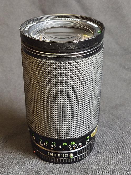 Kalimar 60-300mm f4-5.6 Canon FD lens