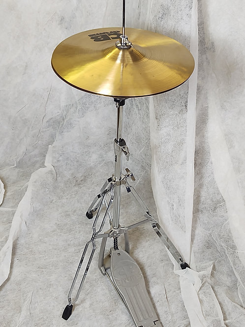 CB hi-hat cymbal set with stand