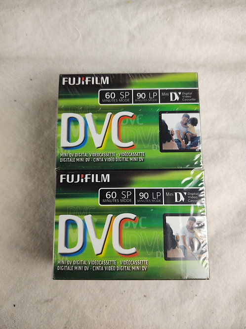 4 Fujifilm mini DV tapes