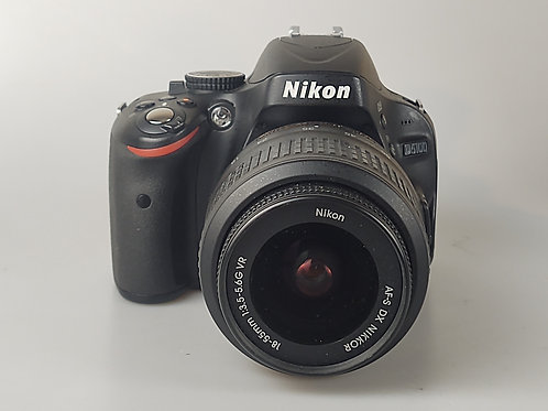 Nikon D5100 with 18-55mm f3.5