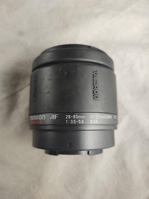 Tamron AF 28-80mm f 3.5 parts lens
