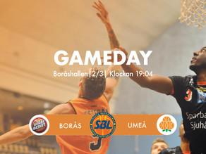 Inför Borås Basket