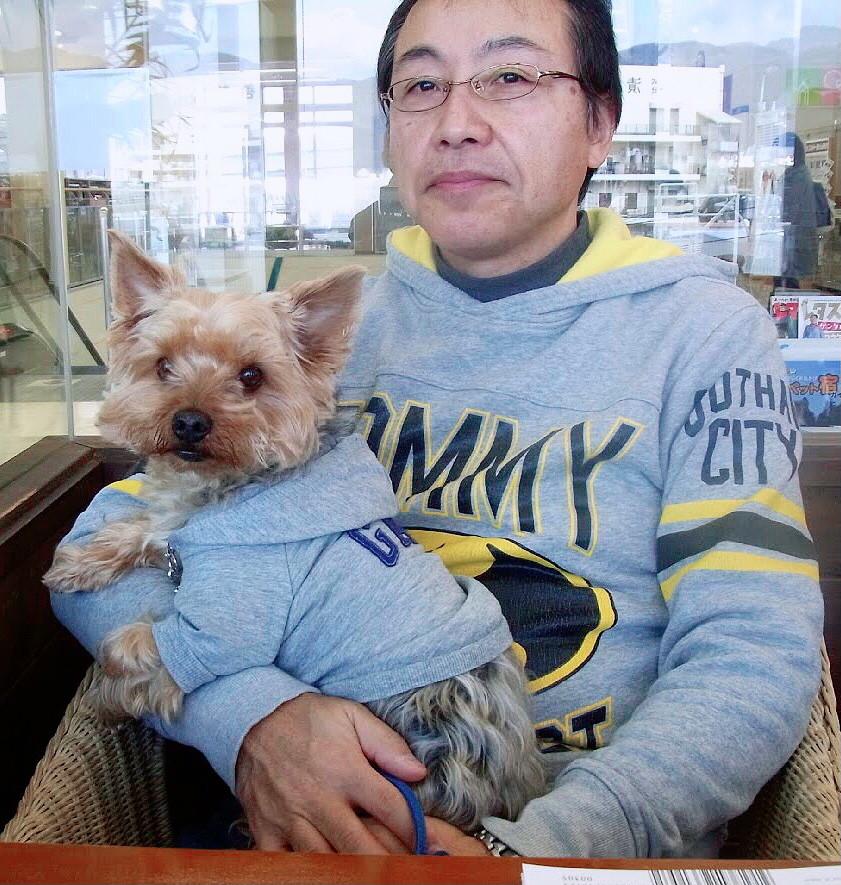 松嶋周一先生と愛犬ラッキー