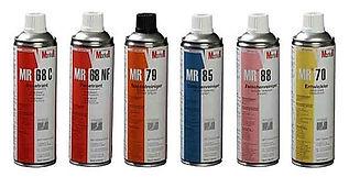 NDT forbruksmateriell penetrant magnetpulver spray