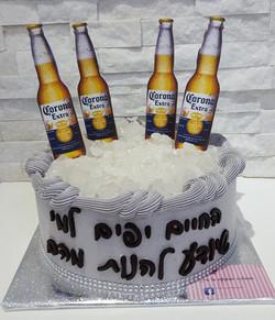 עוגה לגבר קורונה