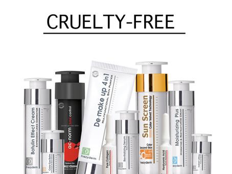 Frezyderm 100% Cruelty Free