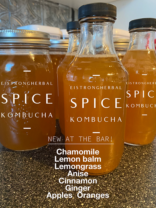 Spiced Kombucha