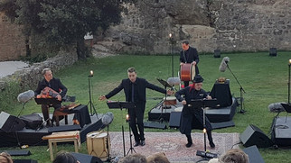 Dante joué au château
