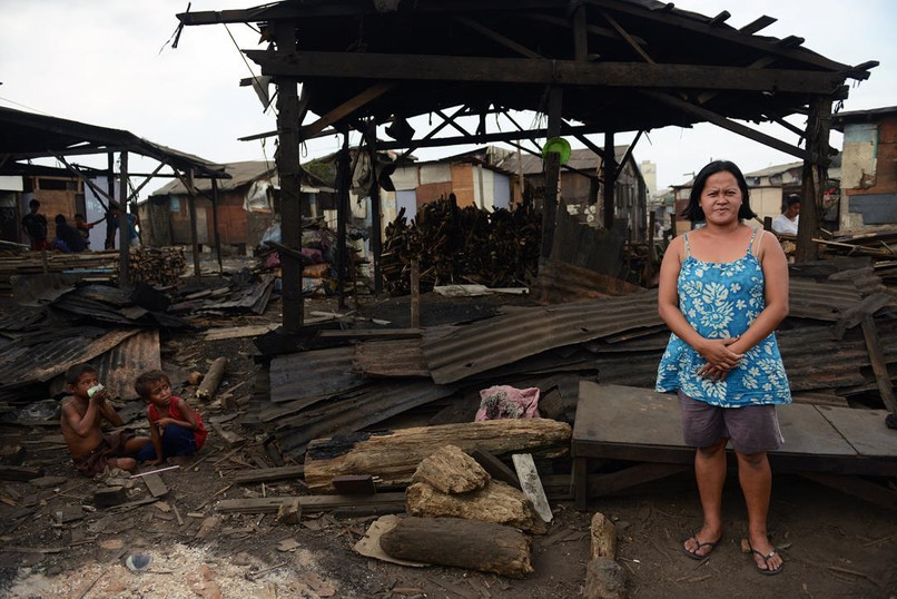 Nanay Marlyn used to work at the charcoal factory where fumes can be toxic.