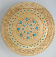 Carved mandala