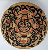 Northwest-style wood carving