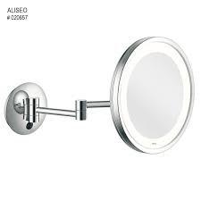 Aliseo Kosmetinis veidrodis LED CITY LIGHT su dviguba kojele