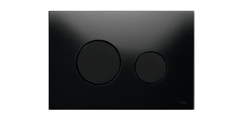 TECEloop stiklinis nuleidimo mygtukas, juodi mygtukai