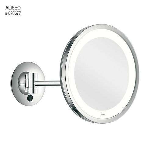 Aliseo Kosmetinis veidrodis LED CITY LIGHT su vienguba kojele