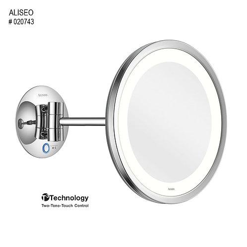 Aliseo Kosmetinis veidrodis LED SATURN su vienguba kojele