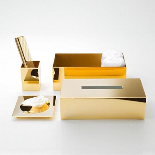 Decor Walther Servetėlių dėžutė auksas KB 82