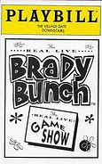 Real Live Brady Bunch Village Gate program cover
