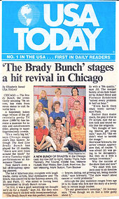 Real Live Brady Bunch USA Today article