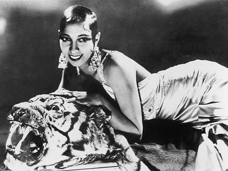 """"""" I wasn't really naked, I simply didn't have any clothes on"""" – Josephine Baker"""